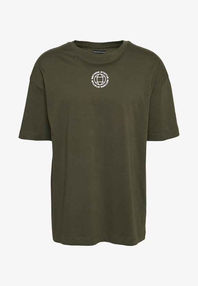 UNISEX - T-shirts med print - army
