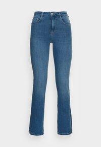 SLIT - Flared Jeans - midblue