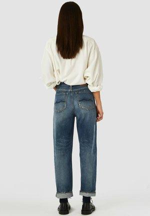 Straight leg jeans - vintage mid blue