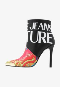 Versace Jeans Couture - HIGHT TOP STILETTO  - High heeled ankle boots - black - 1