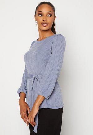 CAROLINE - Long sleeved top - blue