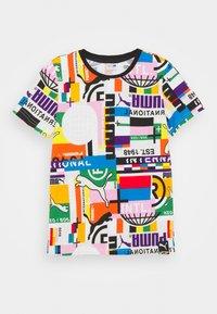 Puma - TEE UNISEX - T-shirt print - white - 0