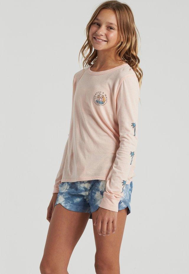 CATCH A WAVE - Camiseta de manga larga - peachy