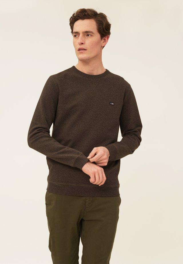 MATEO  - Sweatshirt - brown melange