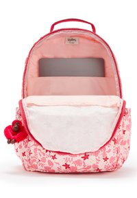 Kipling - SEOUL - Rucksack - pink leaves - 4