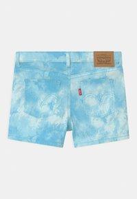 Levi's® - TIE DYE SHORTY  - Szorty jeansowe - blue topaz - 1