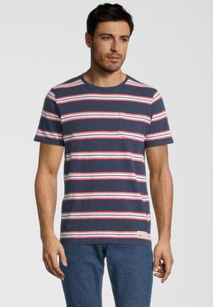 AWE - T-shirt print - deep blue