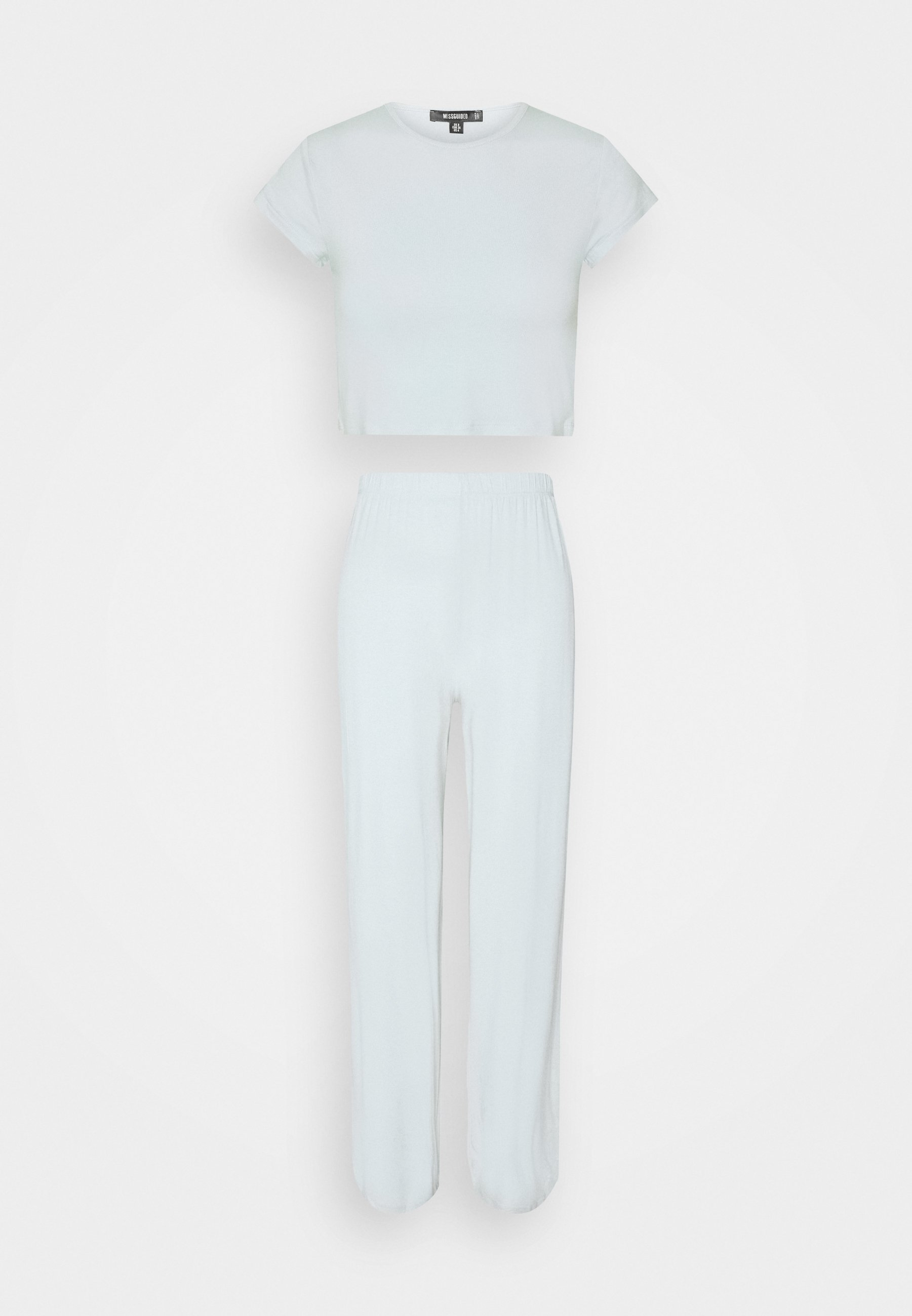 Femme CAP SLEEVE CROP TOP WIDE LEG - Pyjama