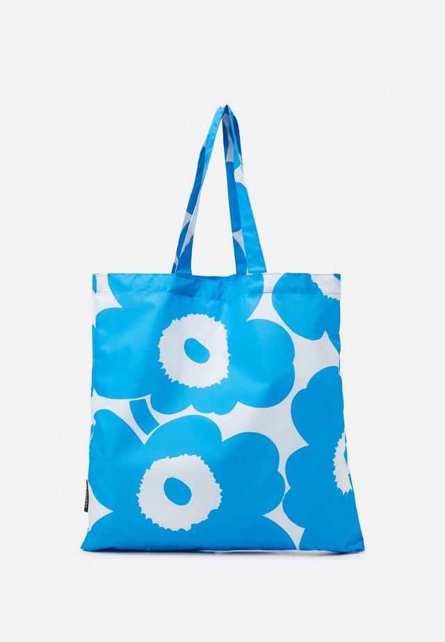 KIOSKI LOPULTA PIENI UNIKKO - Shopping bags - blue/white