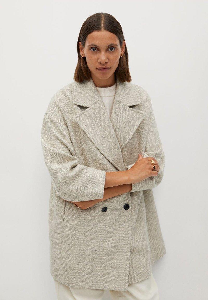 Mango - WILLY - Short coat - beige