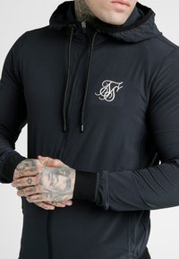 SIKSILK - AGILITY ZIP THROUGH HOODIE - Lehká bunda - midnight navy - 4
