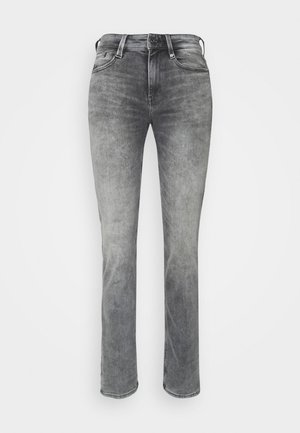 NOXER HIGH STRAIGHT WMN - Jeans straight leg - faded seal grey