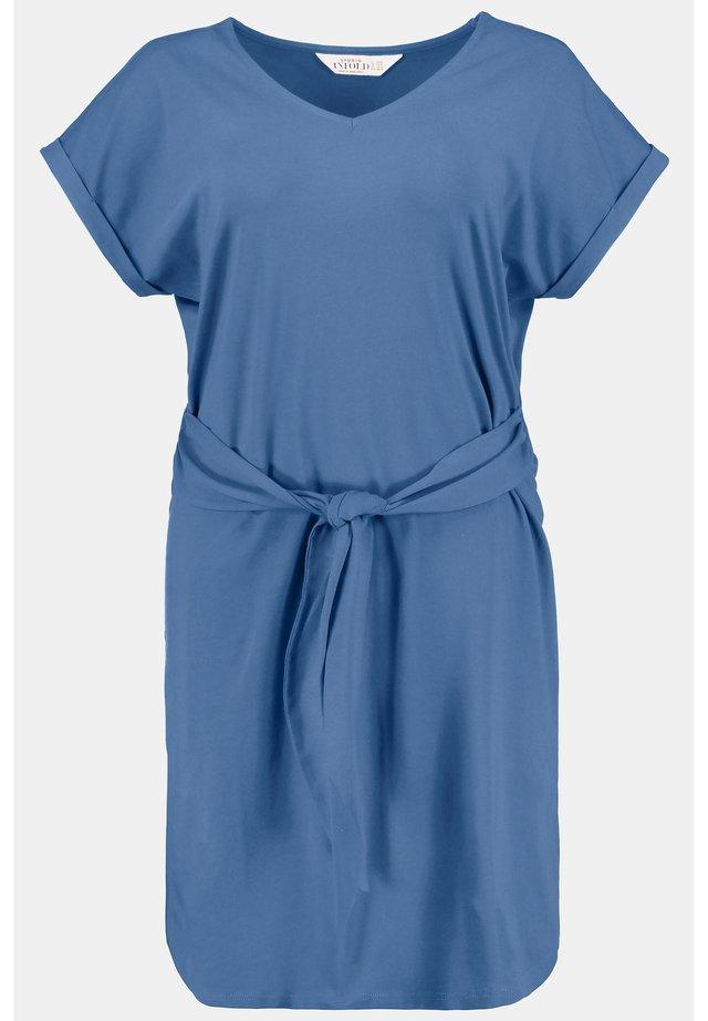 Jerseyjurk - denimblau