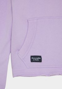 Abercrombie & Fitch - SOLID - Felpa con cappuccio - purple - 2