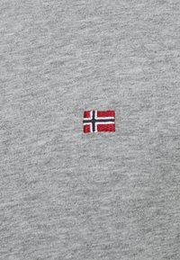 Napapijri - SALIS  - Langærmede T-shirts - motlled grey - 5