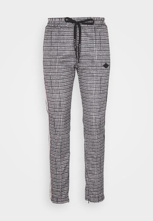 Pantalon classique - natural white/black/camel