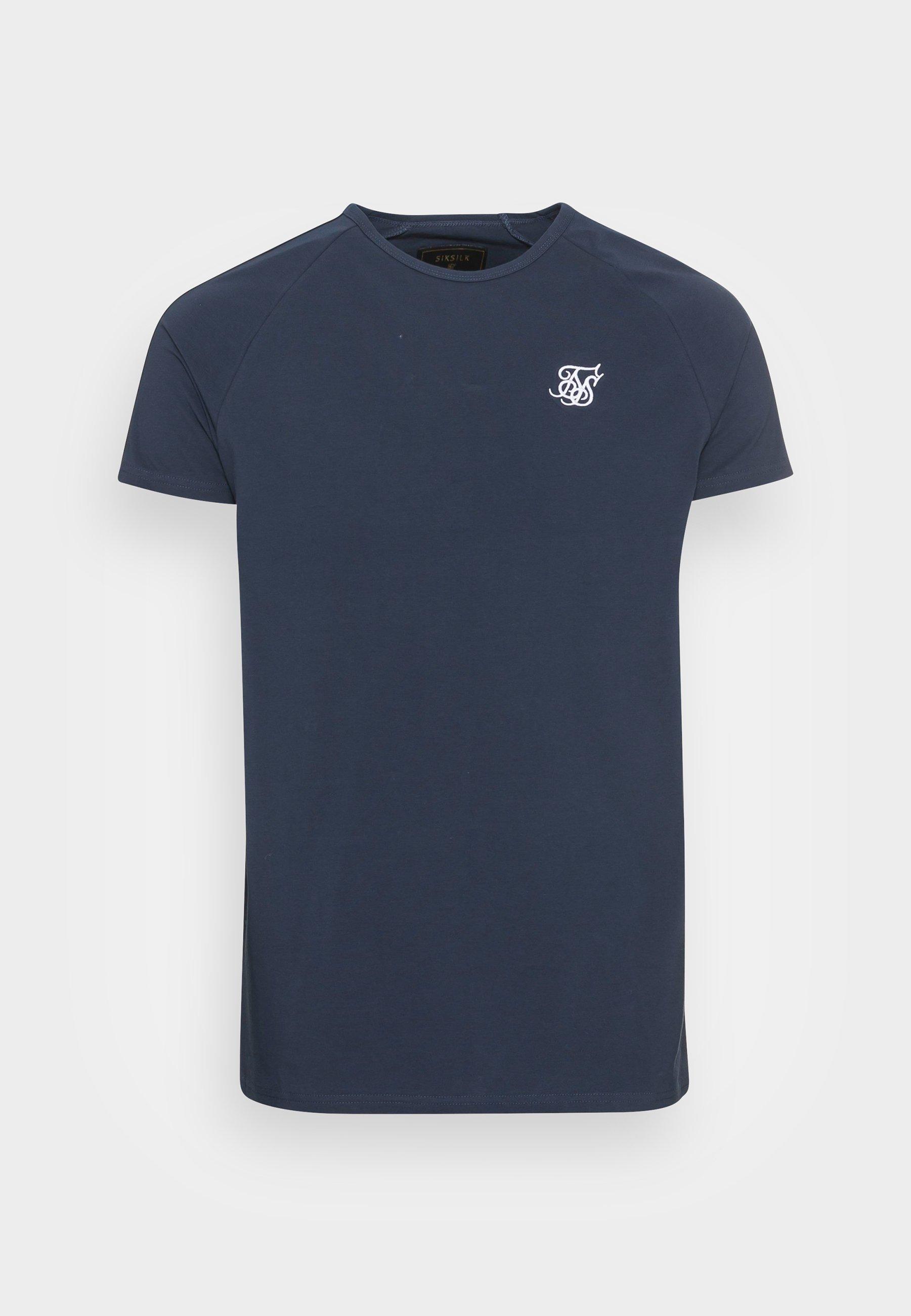 Men SIKSILK STATUS TAPE TEE - Basic T-shirt
