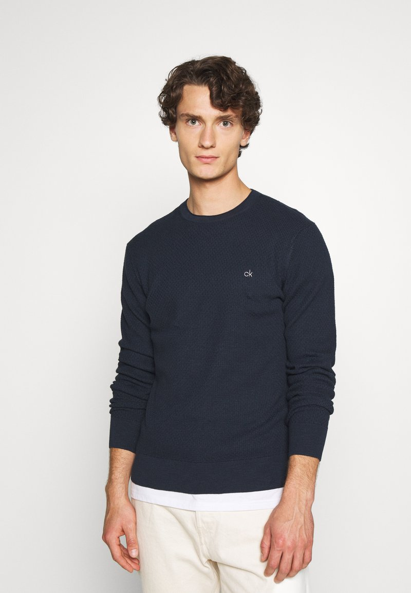 Calvin Klein Tailored - Jumper - blue