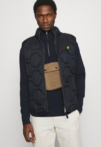 Lyle & Scott - WADDED GILET - Väst - dark navy - 4