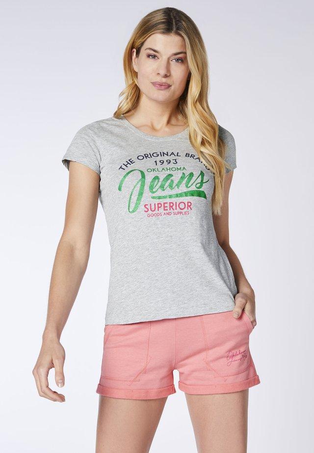 Print T-shirt - vapor