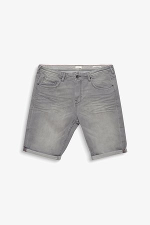 BIG - Farkkushortsit - grey light washed