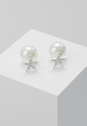 STAR PEARL DOUBLE - Orecchini - clear