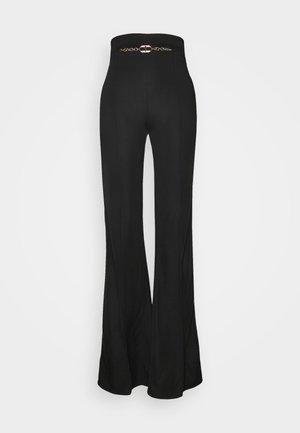 WOMEN'S PANT'S - Trousers - black