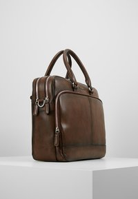 Bugatti - BRIEFBAG LARGE - Briefcase - brown - 3