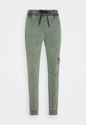 ESSENTIAL UTILITY - Tracksuit bottoms - washed teal