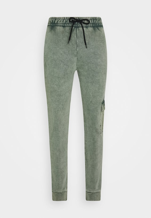 ESSENTIAL UTILITY - Pantaloni sportivi - washed teal