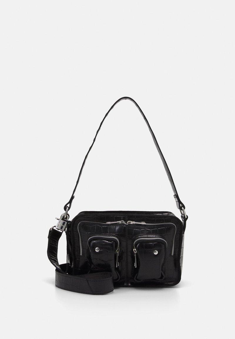 Núnoo - ELLIE CROCO - Handbag - black