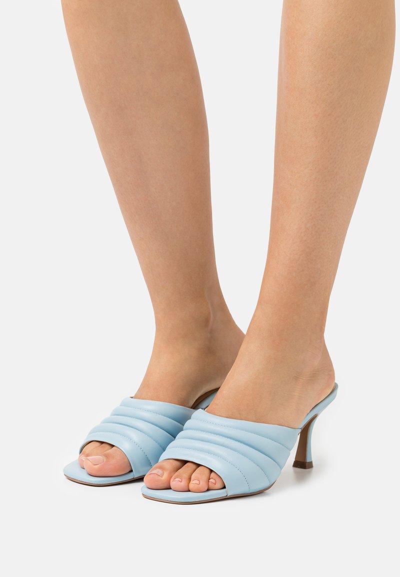 Zign - Heeled mules - blue