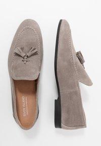 River Island - Elegantní nazouvací boty - grey - 1