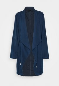 CAPSULE by Simply Be - WATERFALL JACKET - Short coat - navy - 4
