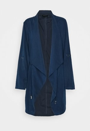 WATERFALL JACKET - Halflange jas - navy