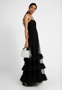 Lace & Beads Tall - RENEE - Galajurk - black - 2