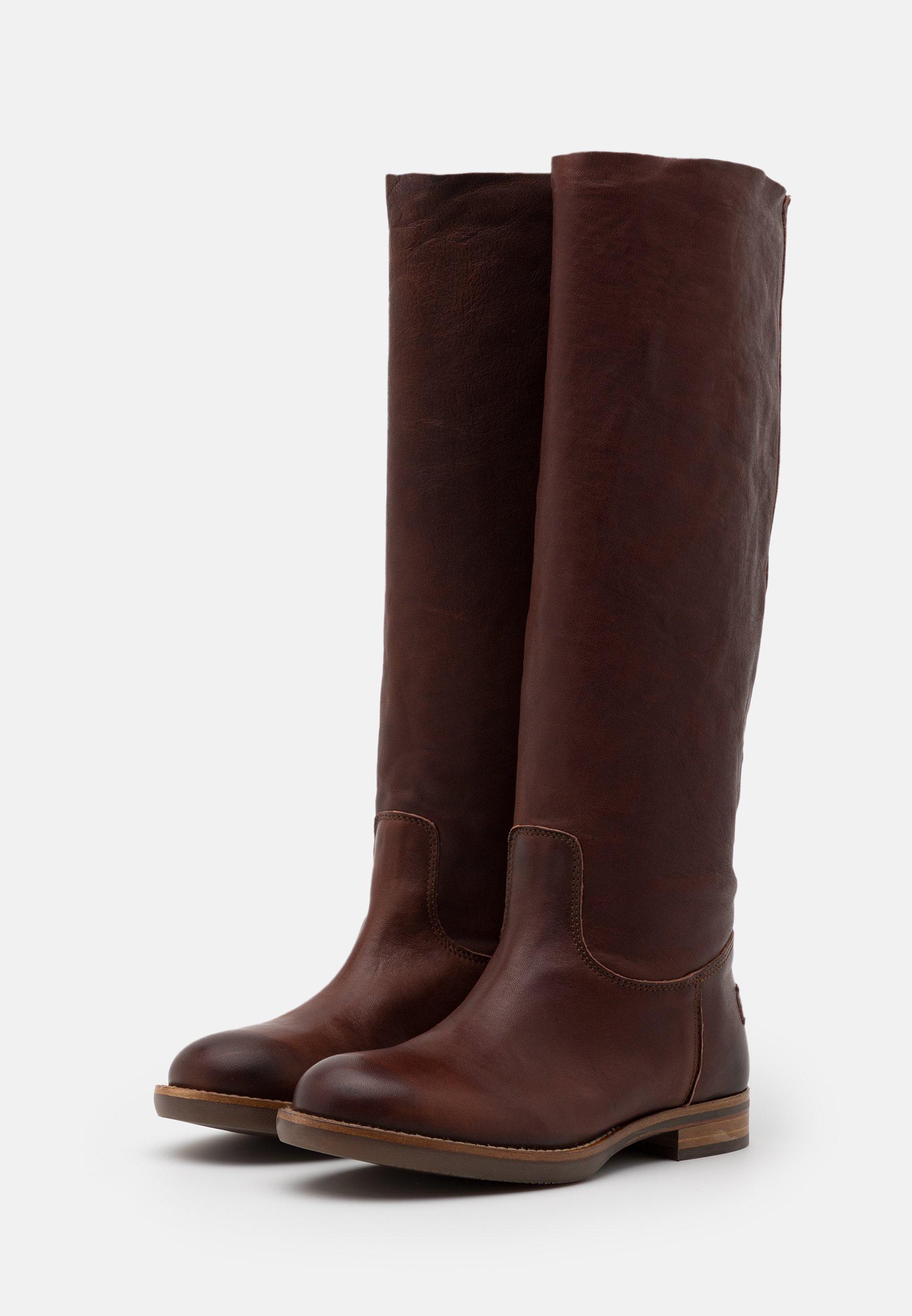 Shabbies Amsterdam Stiefel brown/braun