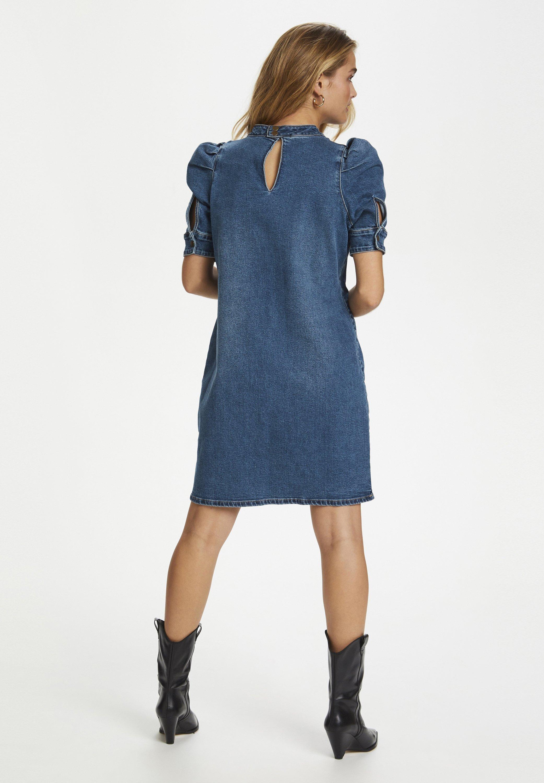 Denim Hunter Jeanskleid medium blue retro wash/blau