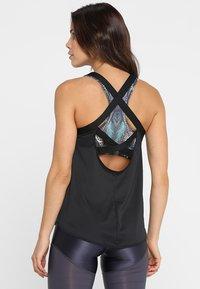Nike Performance - DRY TANK ELASTIKA - T-shirt sportiva - black - 2
