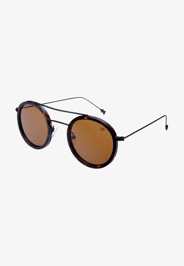OSAKA - Okulary przeciwsłoneczne - tortiose & matt black