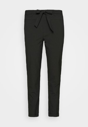 JIA BELT PANTS - Trousers - black deep