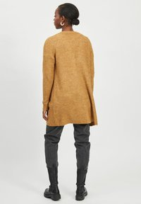 Vila - OFFENER RIPPENSTRICK - Cardigan - cathay spice - 2