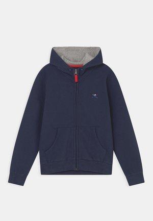 HOODY - Sweater met rits - navy