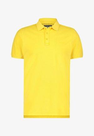 REGULAR FIT - Poloshirt - light-yellow plain