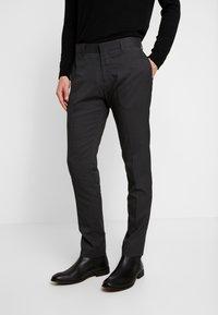 Antony Morato - SLIM JACKET BONNIE PANTS  - Kostym - black - 4