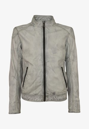 Leather jacket - d-art weiß