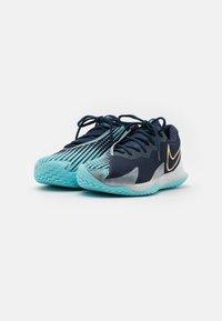 Nike Performance - AIR ZOOM VAPOR CAGE 4 - Multicourt tennis shoes - obsidian/metallic gold/copa/white - 1