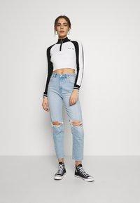 Abrand Jeans - Jean slim - blue denim - 1