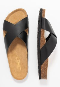 ONLY SHOES - ONLMADISON SLIP ON - Slippers - black - 3