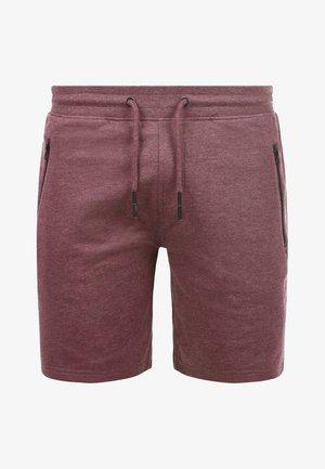 SWEATSHORTS TARAS - Shorts - wine red m